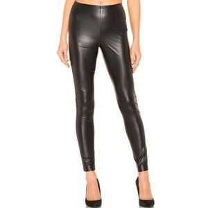 NWT 1.State Faux Leather Stretch Legging in Black